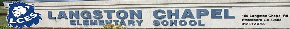 Langston Chapel Elementary  Logo