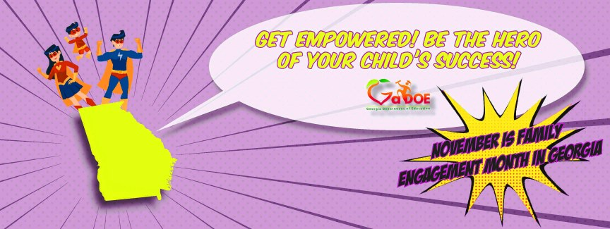 Family Engagement Month Banner